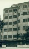 Foto em preto e branco da fachada do IFF. (Foto: acervo COC).