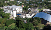 Vista aérea do Instituto Aggeu Magalhães, a Fiocruz Pernambuco